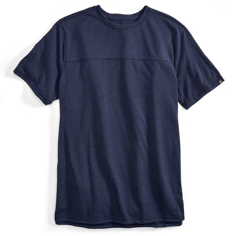EMS® Men's Techwick® Vital Short-Sleeve Travel Tee  - NAVY BLAZER
