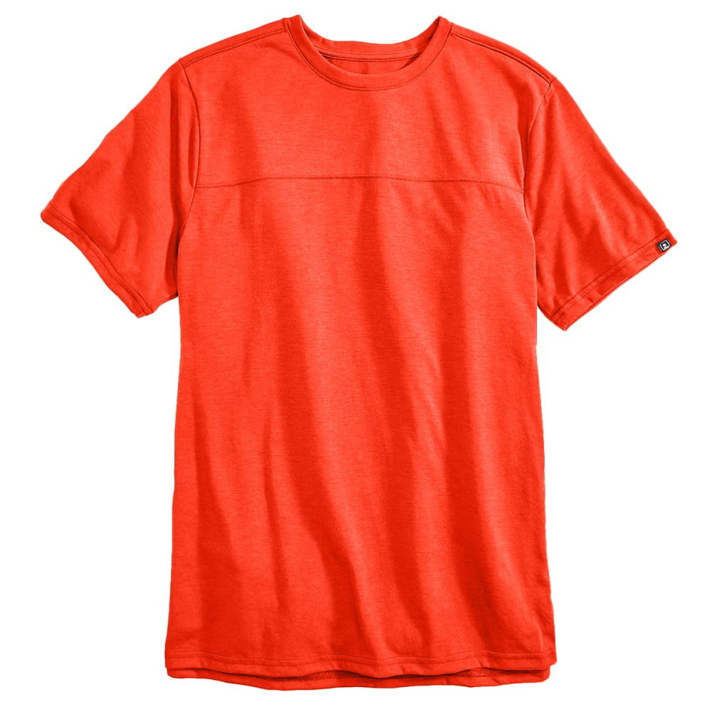 EMS® Men's Techwick® Vital Short-Sleeve Travel Tee   - ORANGE.COM HTR