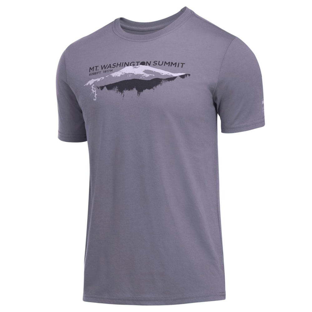EMS® Men's Techwick® Mt. Washington Observatory Vital Graphic Tee - PEWTER