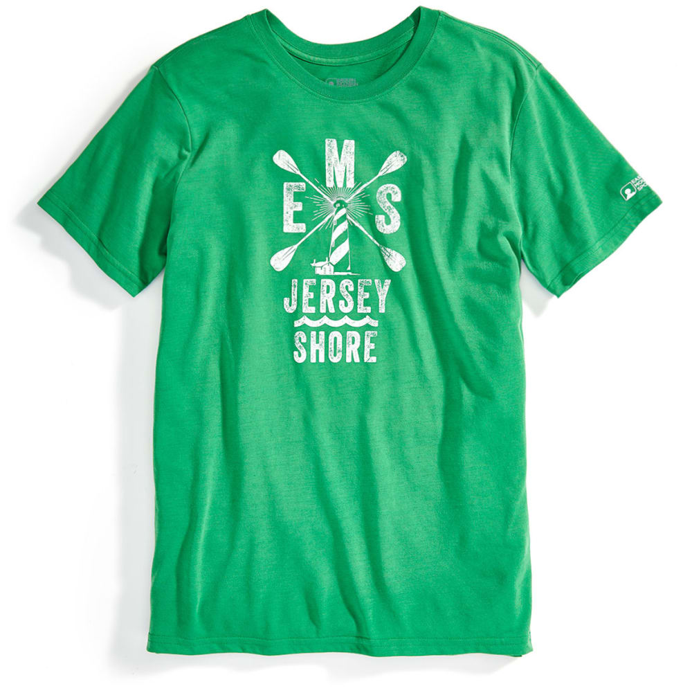 EMS® Men's Techwick® SUP Jersey Vital Graphic Tee - MED. GREEN