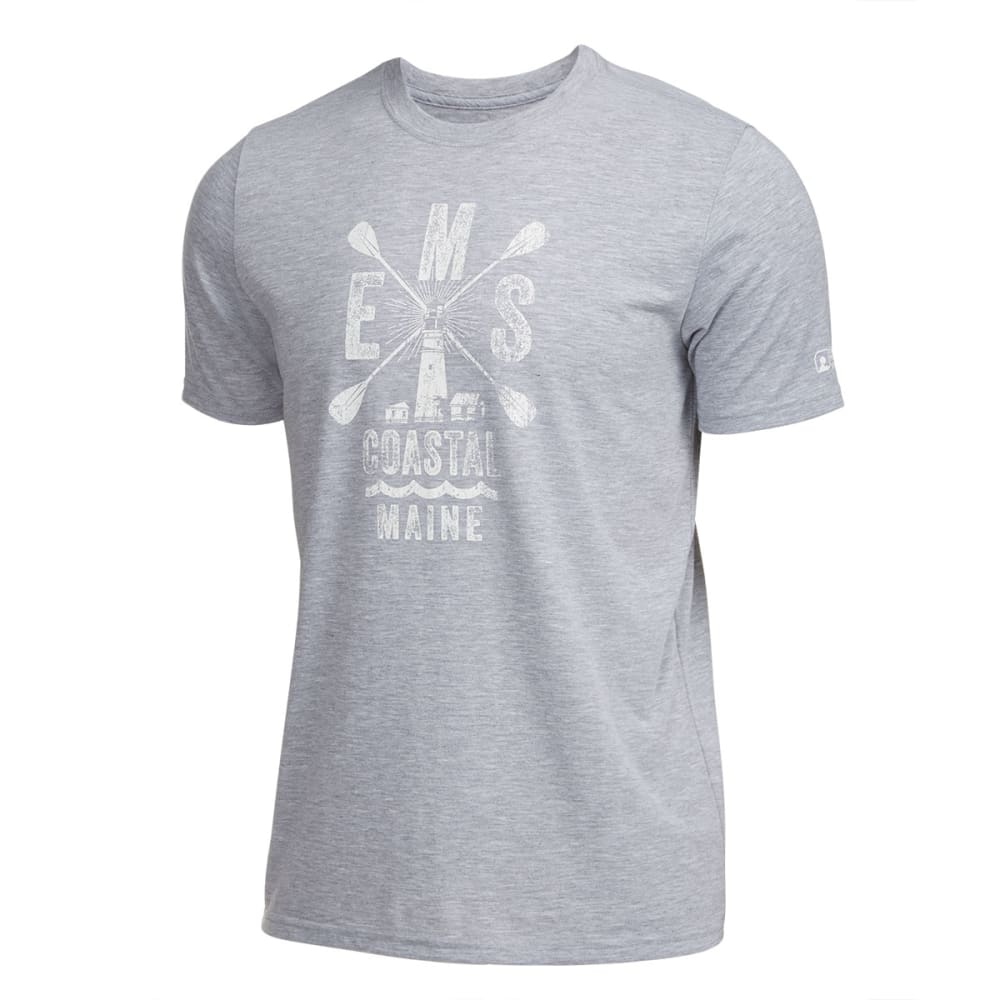 EMS® Men's Techwick® SUP Maine Vital Graphic Tee  - HEATHER GRAY