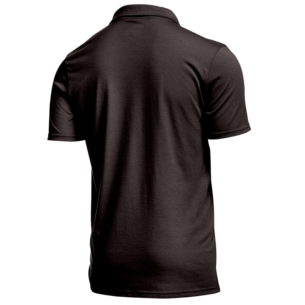 EMS® Men's Techwick® Vital Polo  - BLACK