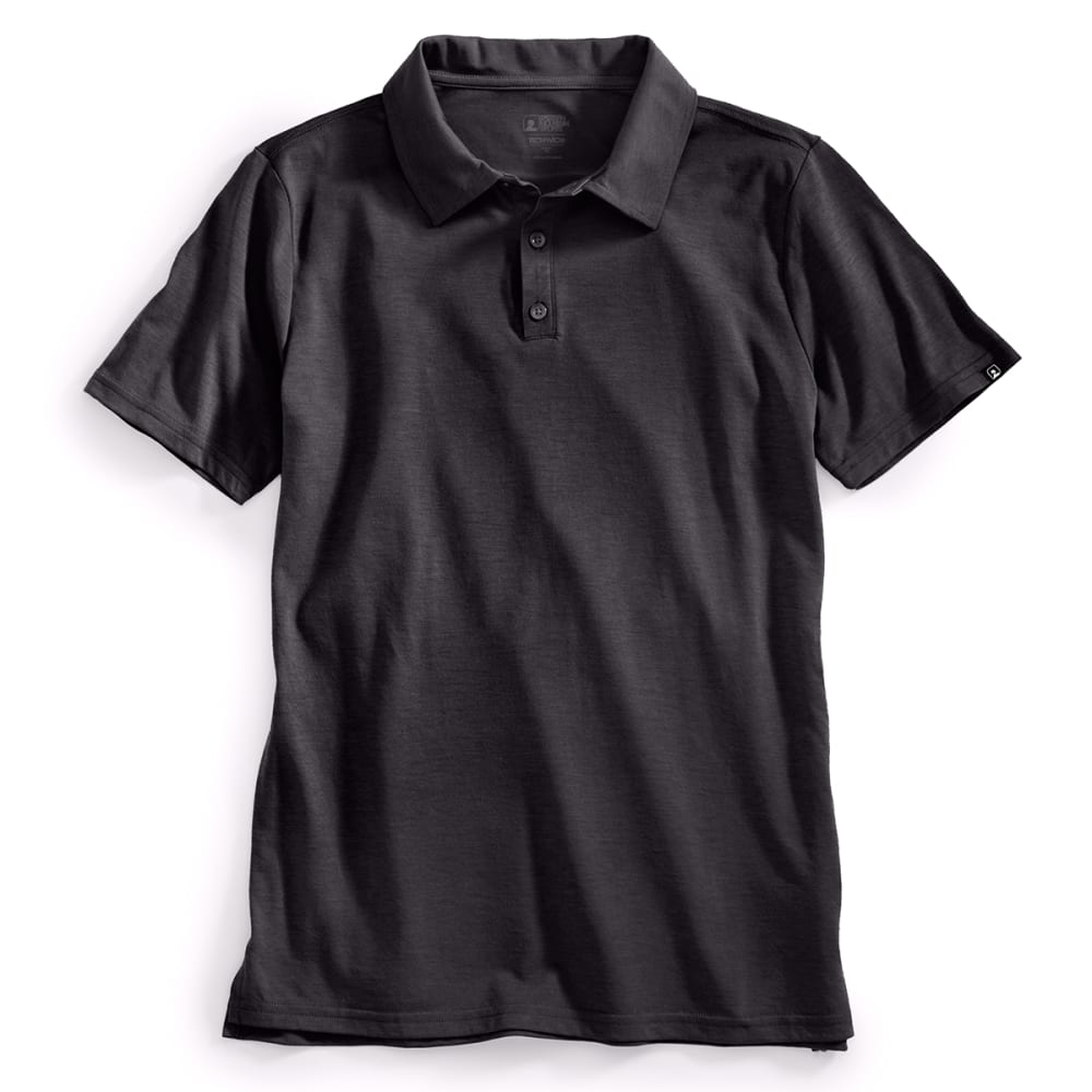 EMS® Men's Techwick® Vital Polo   - BLACK