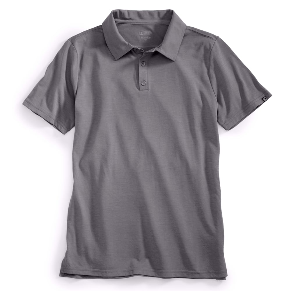 EMS® Men's Techwick® Vital Polo   - PEWTER
