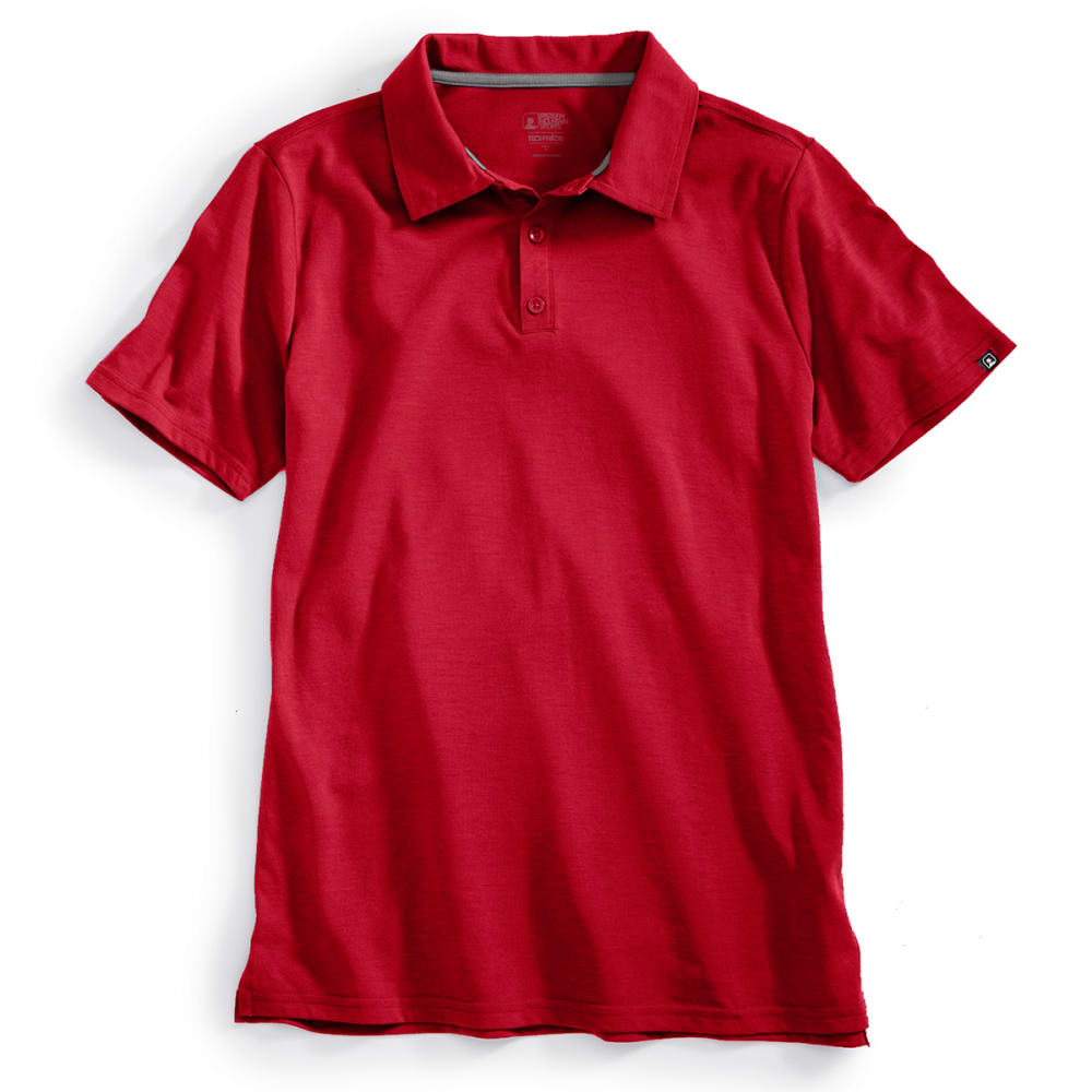 EMS® Men's Techwick® Vital Polo   - CHILI PEPPER