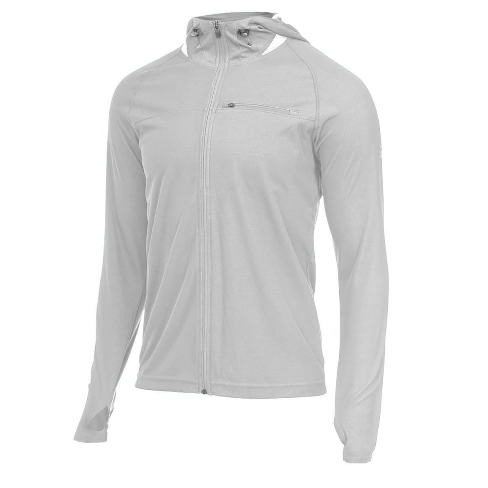 EMS® Men's Techwick® Full-Zip Epic UPF Sun Hoodie  - HIGHRISE GREY