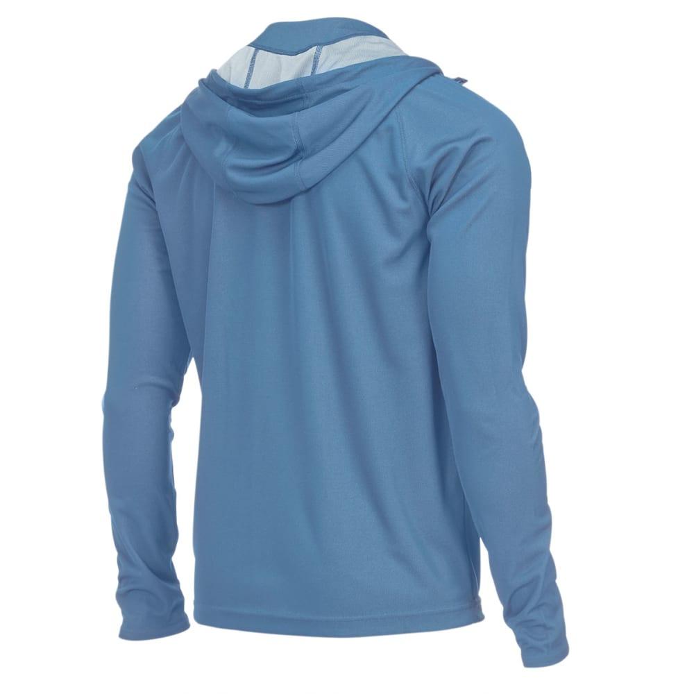 EMS® Men's Techwick® Full-Zip Epic UPF Sun Hoodie - CORONET BLUE