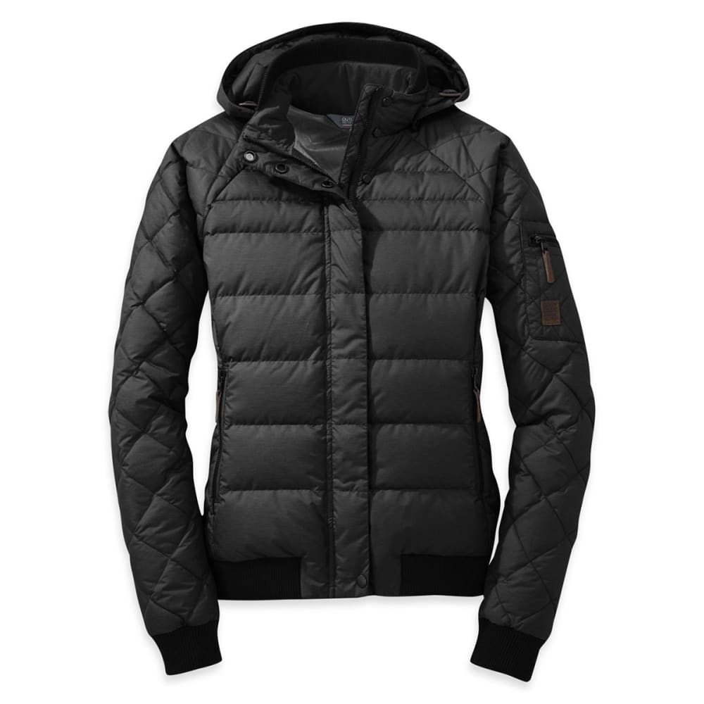OUTDOOR RESEARCH Women's Placid Down Jacket - BLACK