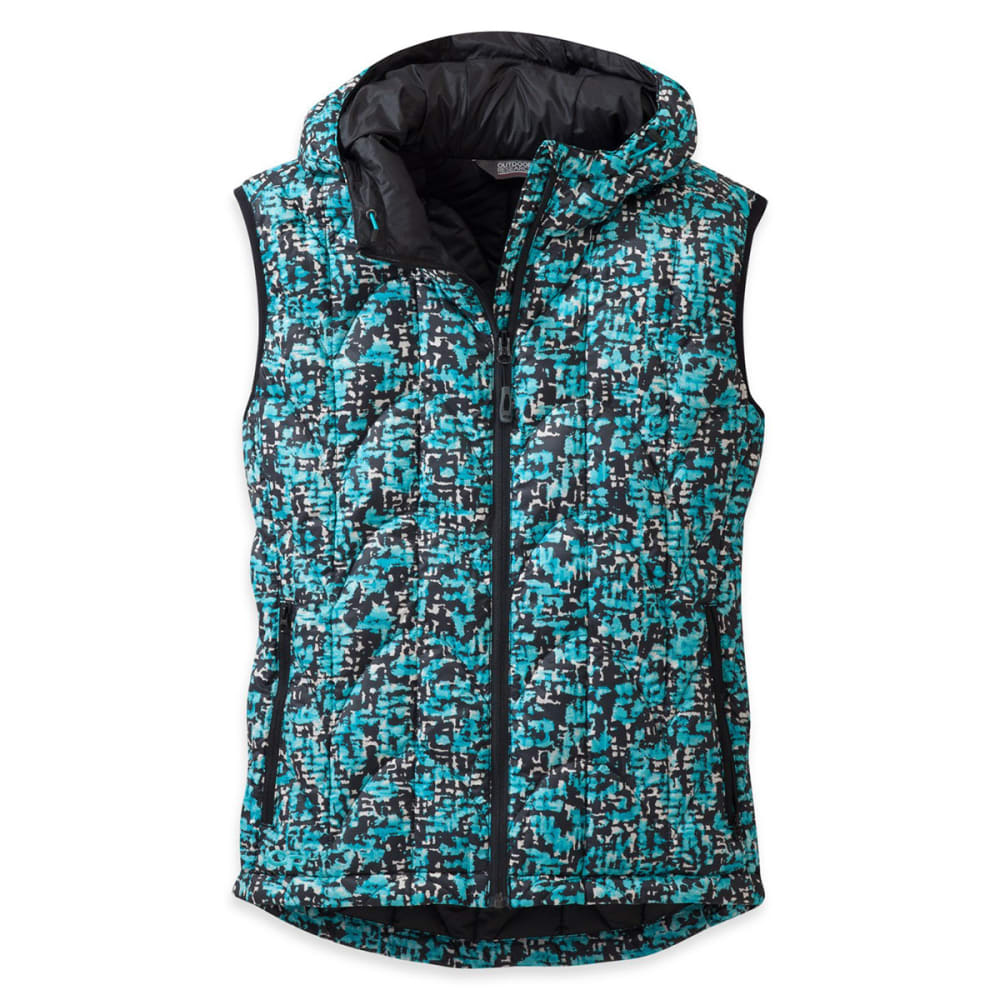 OUTDOOR RESEARCH Women's Aria Print Vest - ALPINE LAKE