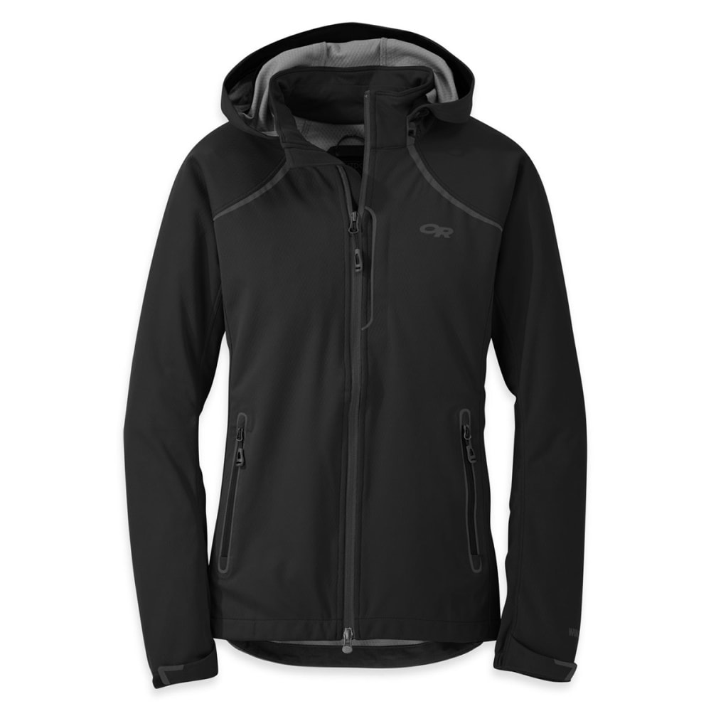 OUTDOOR RESEARCH Women's Linchpin Hooded Jacket - BLACK
