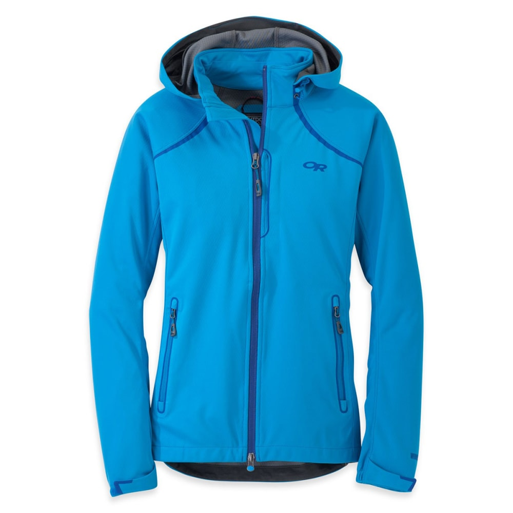 OUTDOOR RESEARCH Women's Linchpin Hooded Jacket - HYDRO