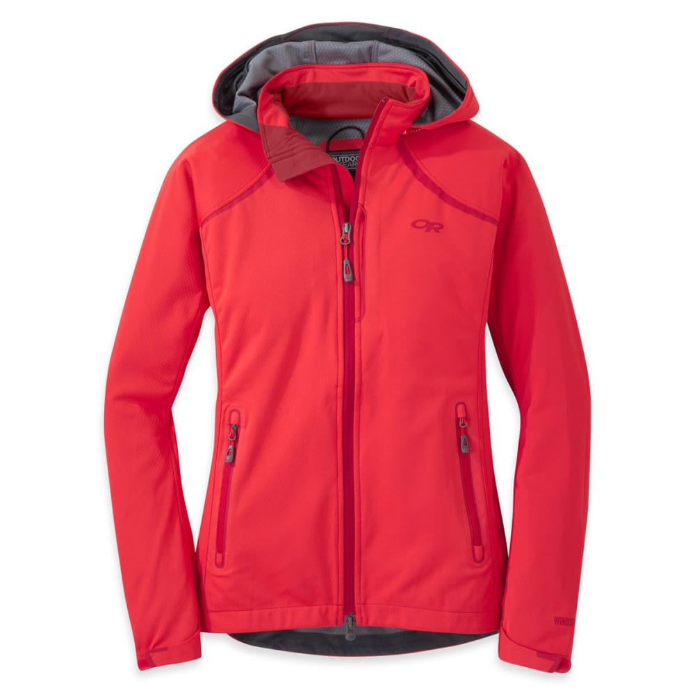OUTDOOR RESEARCH Women's Linchpin Hooded Jacket - FLAME