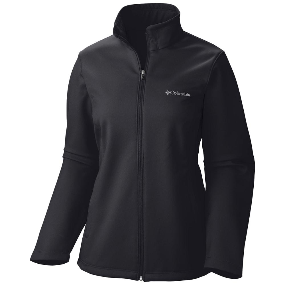 dbe939d6738ad COLUMBIA Women  39 s Kruser Ridge Softshell Jacket - BLACK