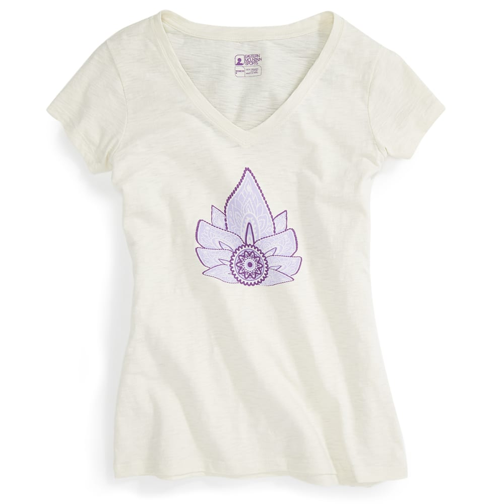 EMS® Women's Lotus For Us Graphic Tee - TURTLE DOVE