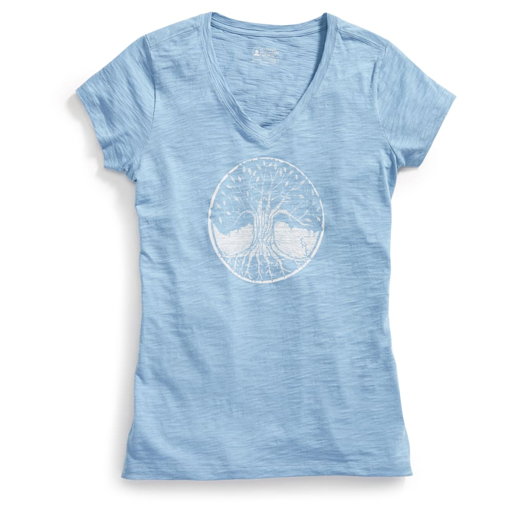 EMS® Women's Forest From the Trees Graphic Tee - FADED DENIM