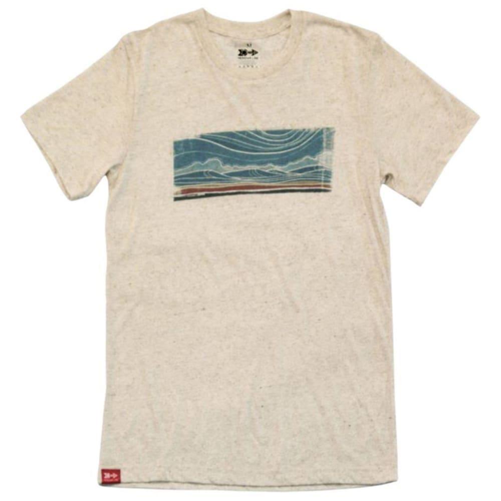 MERIDIAN LINE Women's Floatscape Tee Shirt - OATMEAL