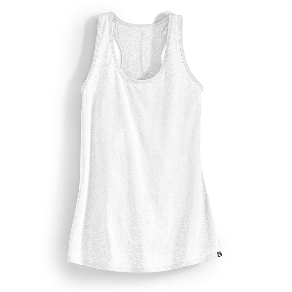 EMS® Women's Burnout Flow Tank - WHITE