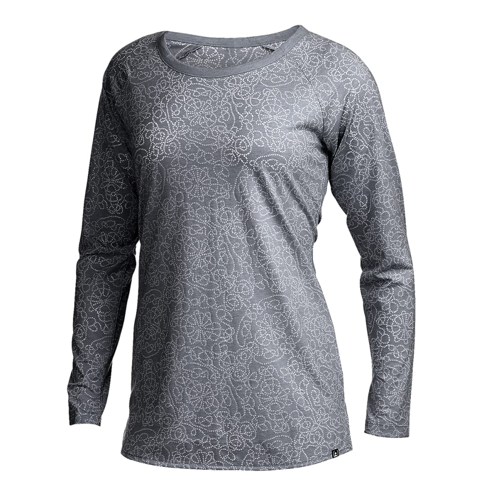 EMS® Women's Burnout Long-Sleeve Top - TURBULENCE