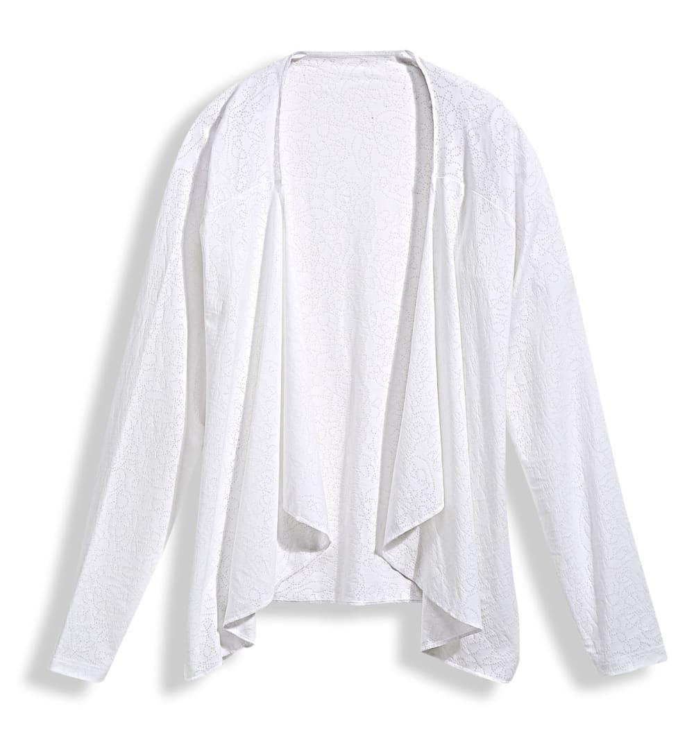 EMS® Women's Burnout Wrap - BRIGHT WHITE
