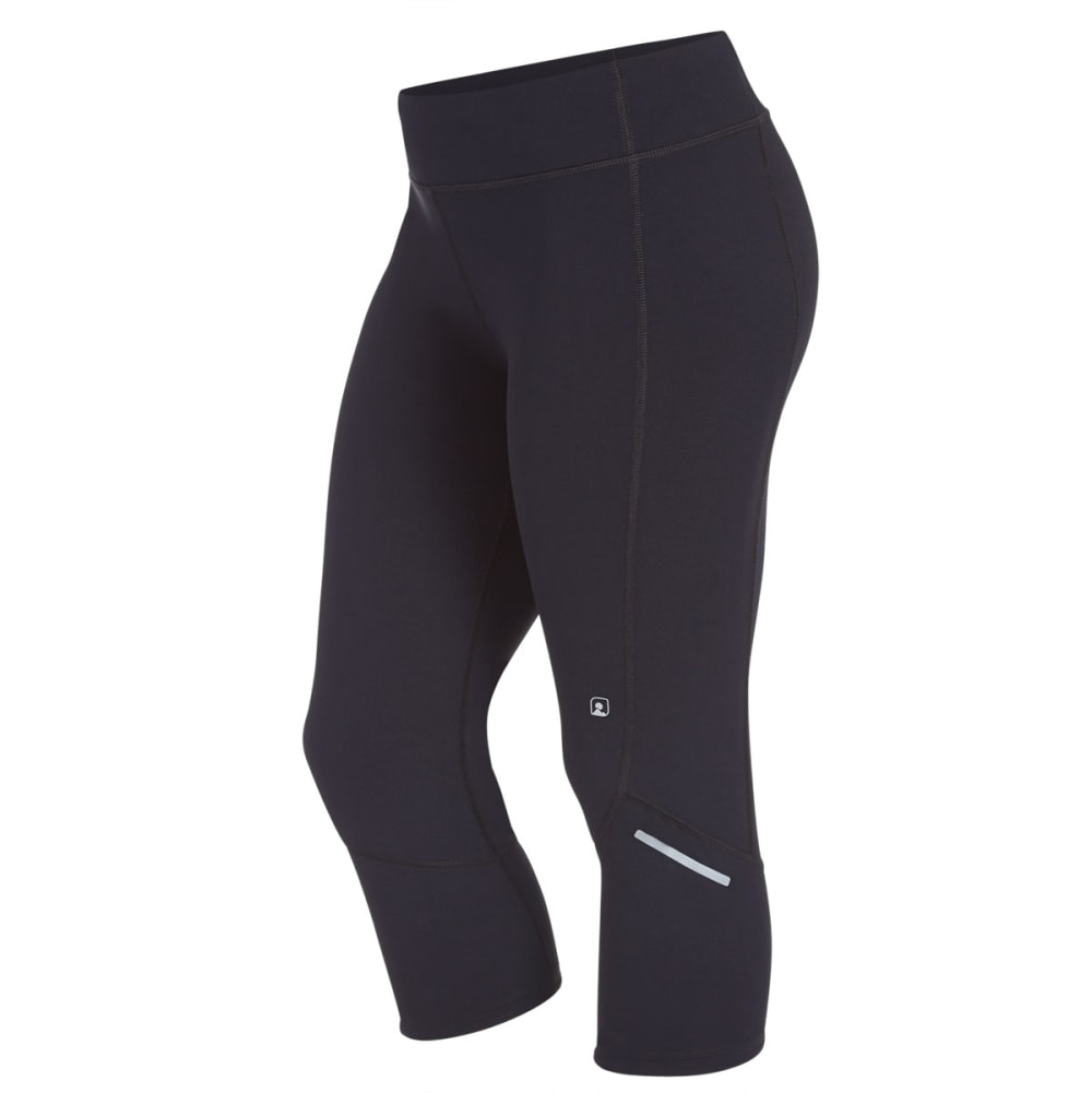 EMS Women's Techwick Excel Capri Pants - BLACK