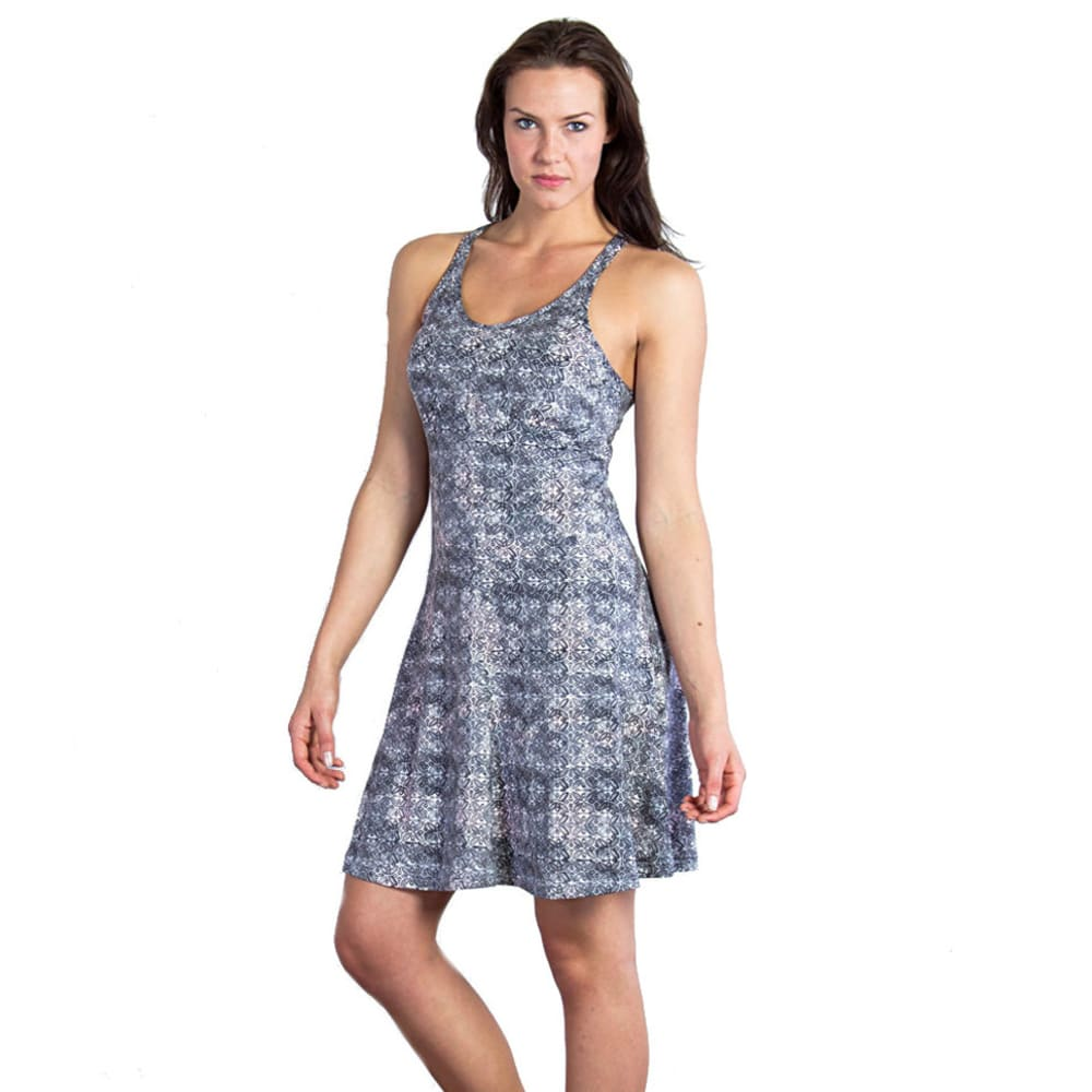 EXOFFICIO Women's Wanderlux™ Print Tank Dress - PEBBLE