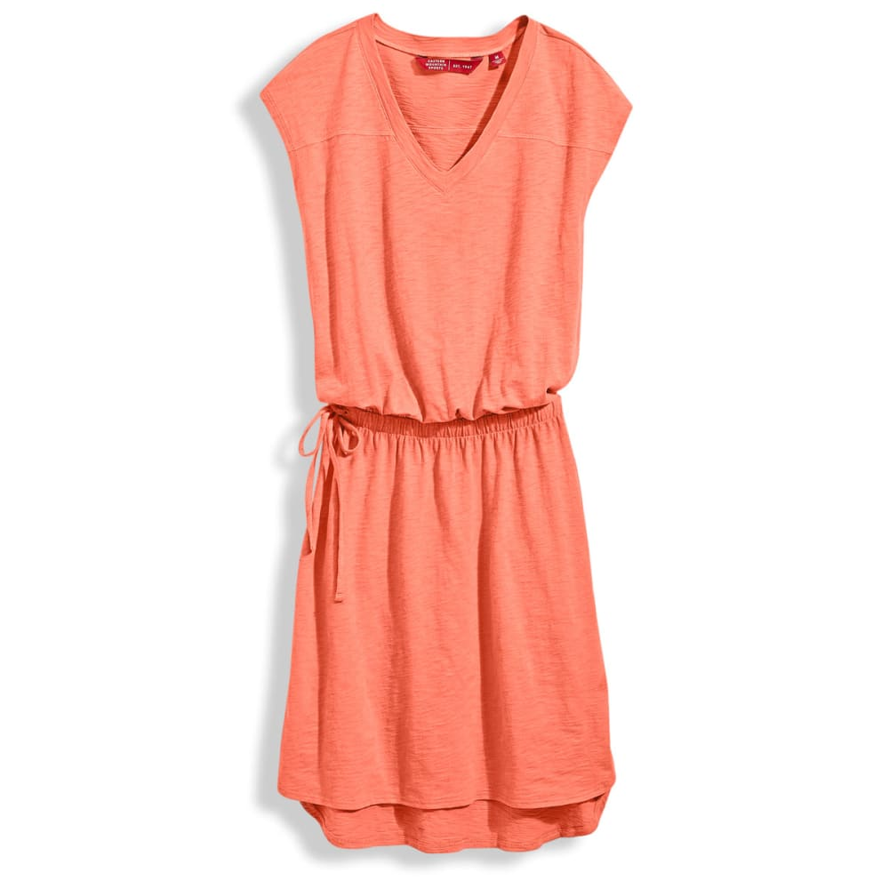 EMS® V-Neck T-Shirt Dress - CAMELIA