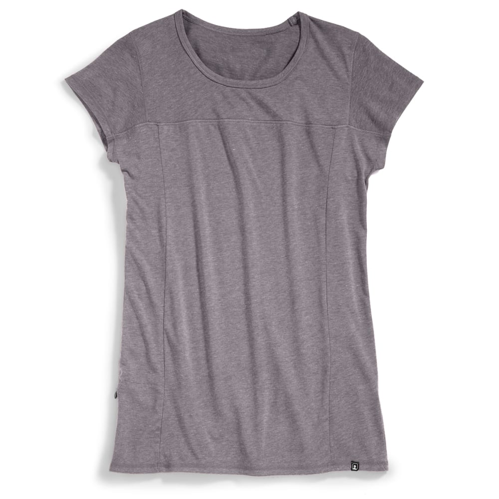 EMS® Women's Techwick® Vital Travel Tee - NEUTRAL GREY HEATHER