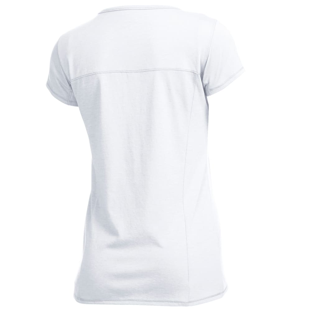 EMS Women's Techwick Vital Travel Tee - BRIGHT WHITE
