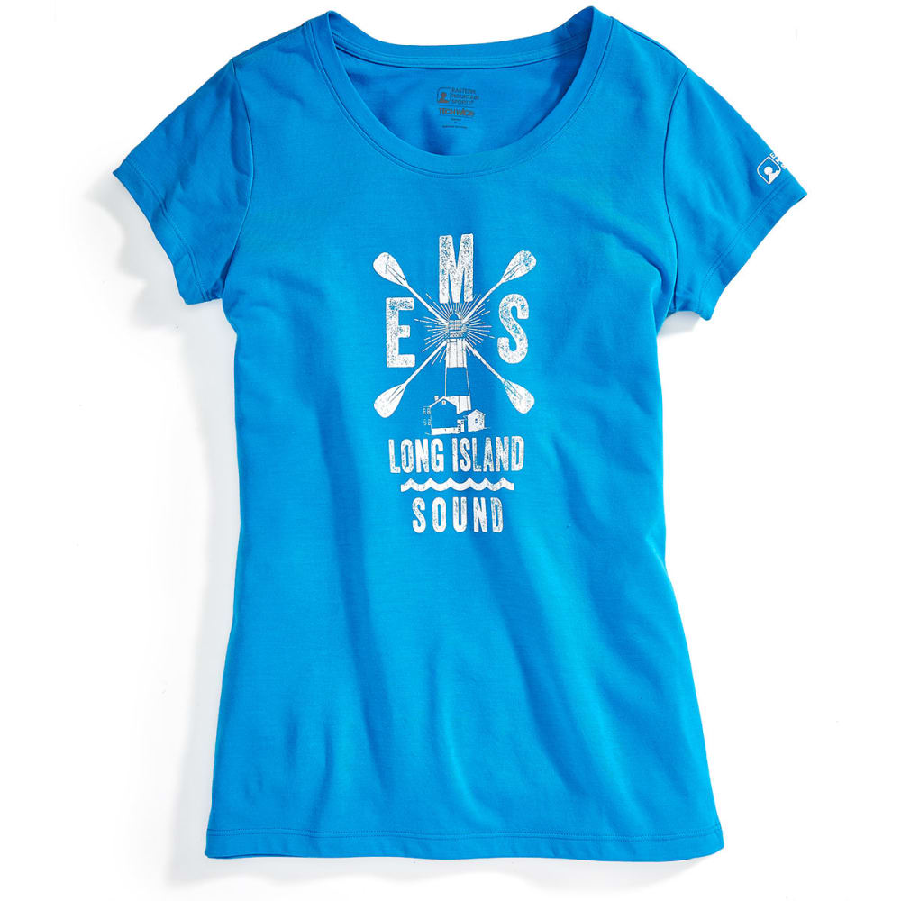 EMS® Women's Techwick® SUP LI Sound Vital Graphic Tee - METHYL BLUE