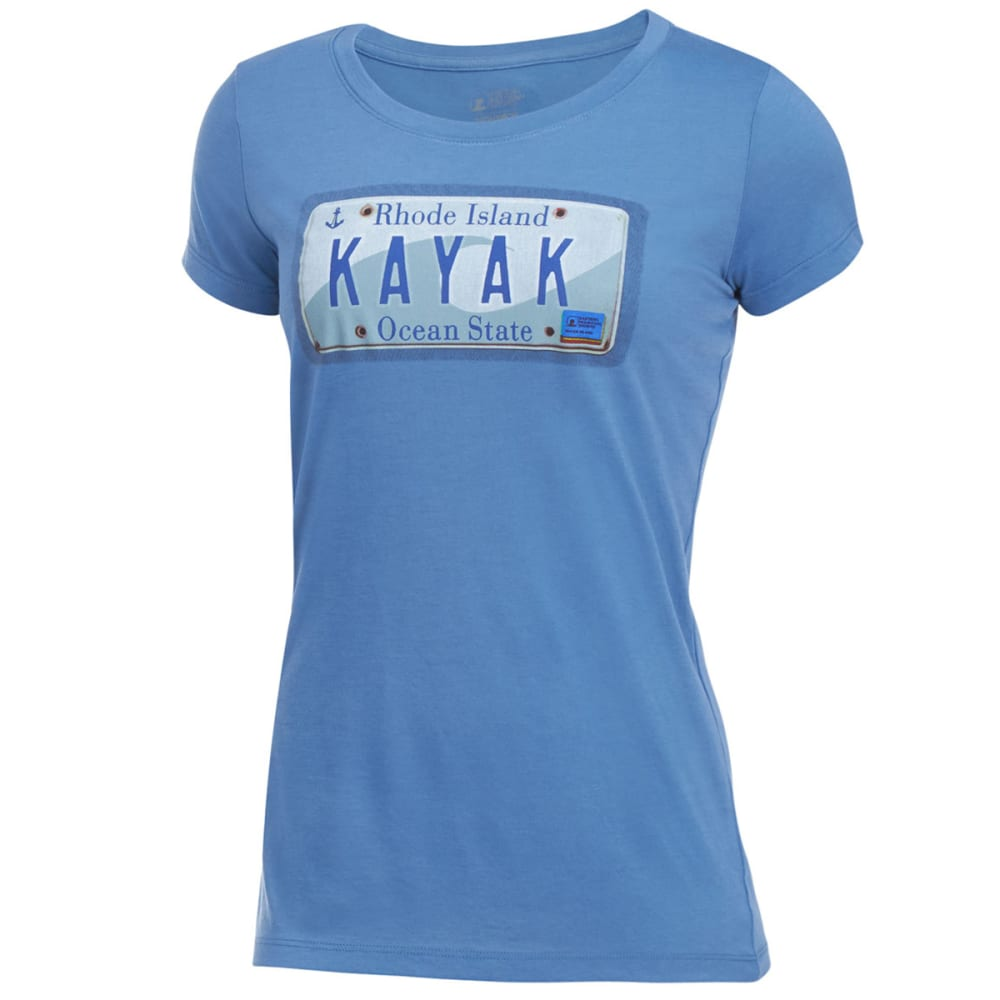 EMS® Women's Techwick® Kayak Vital Graphic Tee - CORONET BLU