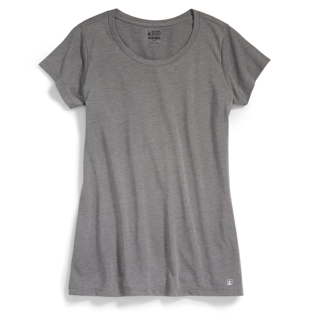 EMS® Women's Techwick® Vital Crew Neck Tee   - NEUTRAL GREY HEATHER
