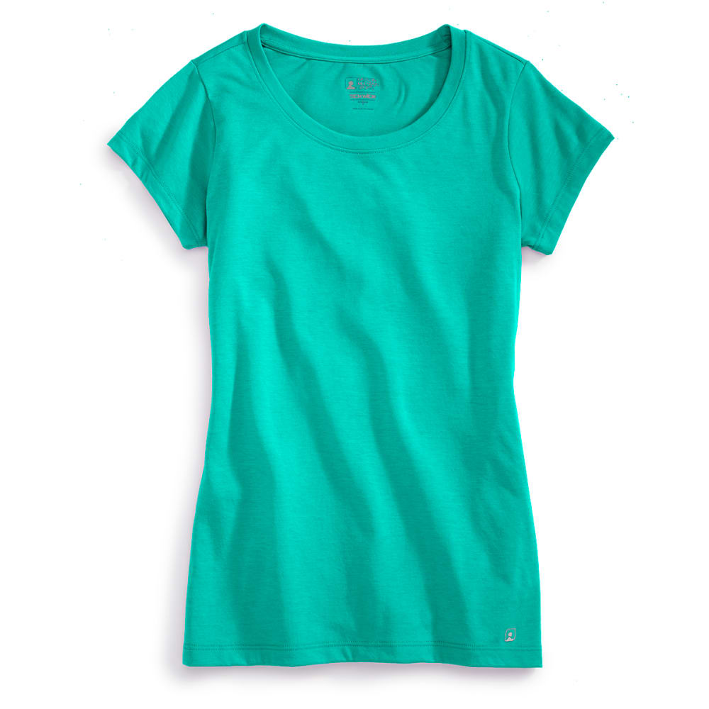 EMS® Women's Techwick® Vital Crew Neck Tee   - SEA GREEN