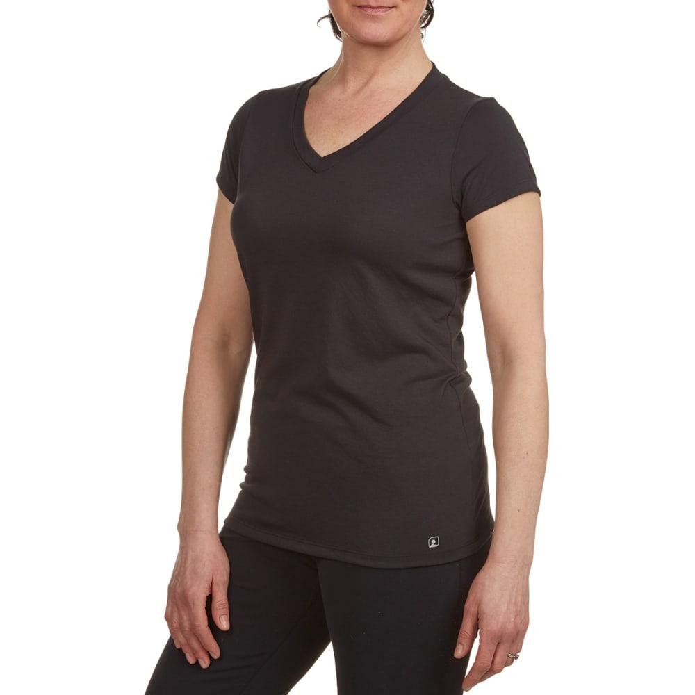 EMS® Women's Techwick® Vital V-Neck Tee  - BLACK