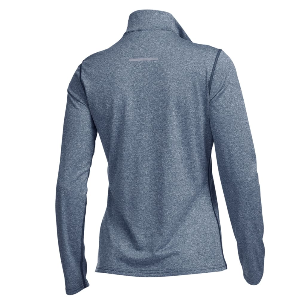 EMS® Women's Techwick® Essence Long-Sleeve ¼ Zip - NAVY HEATHER