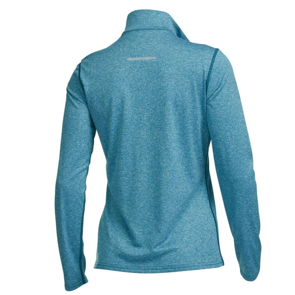 EMS® Women's Techwick® Essence Long-Sleeve  ¼ Zip - METHYL BLUE