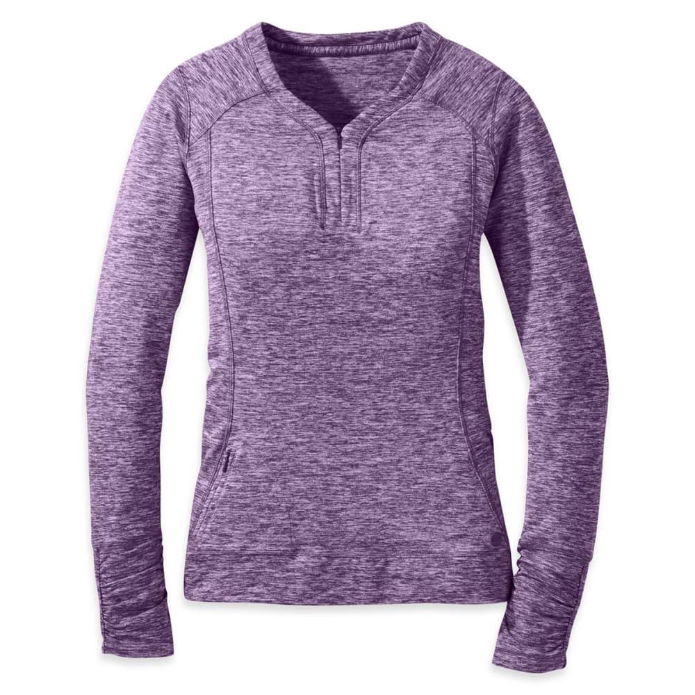 OUTDOOR RESEARCH Women's Melody Long-Sleeve Shirt - ELDERBERRY