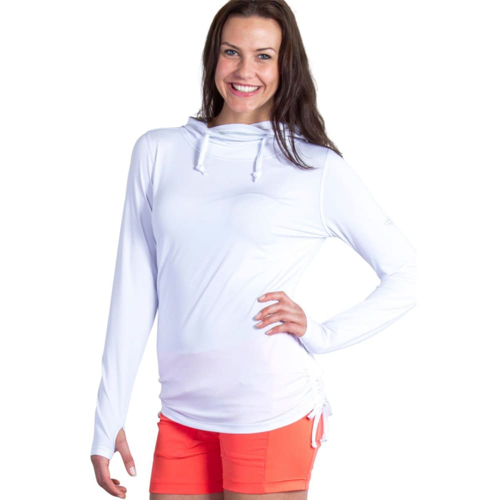 EXOFFICIO Women's Sol Cool   Ultimate Hoody - WHITE