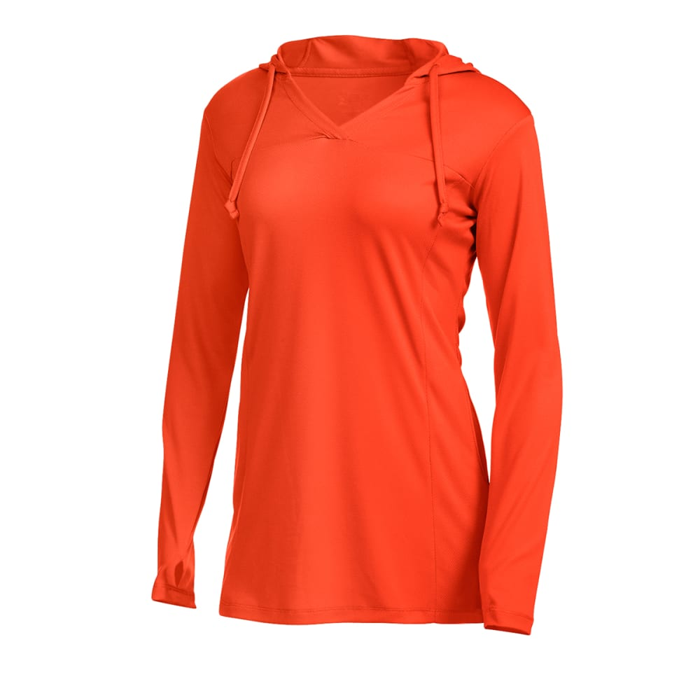 EMS® Women's Techwick® Hydro Hooded Tunic   - ORANGE