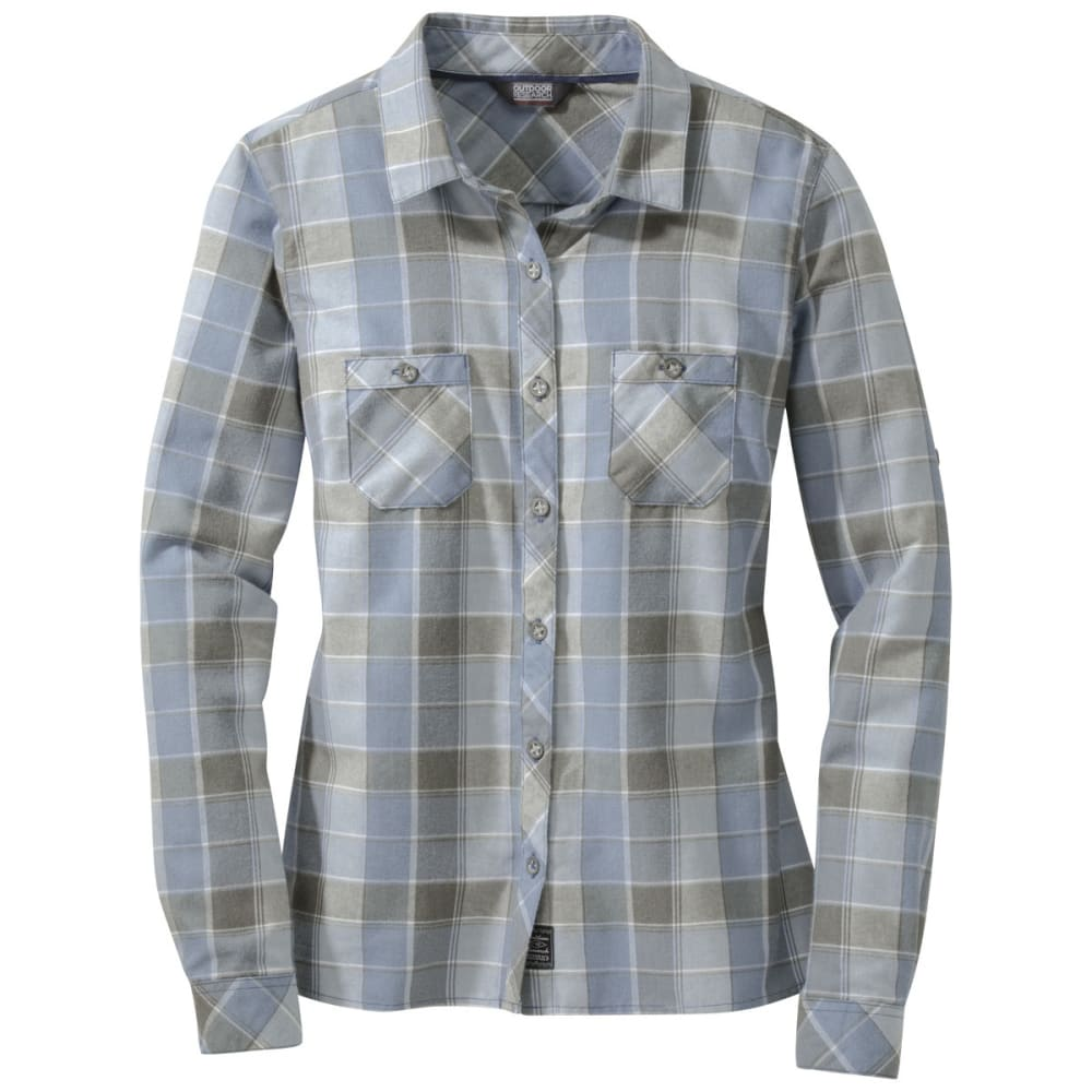 OUTDOOR RESEARCH Women's Ceres Long-Sleeve Shirt - DUSK/PEWTER