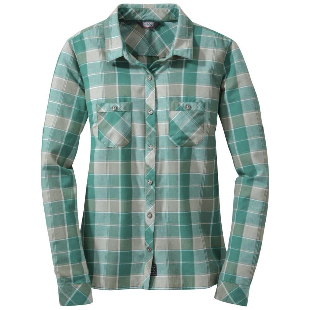 OUTDOOR RESEARCH Women's Ceres Long-Sleeve Shirt - ATLANTIS/SHADE