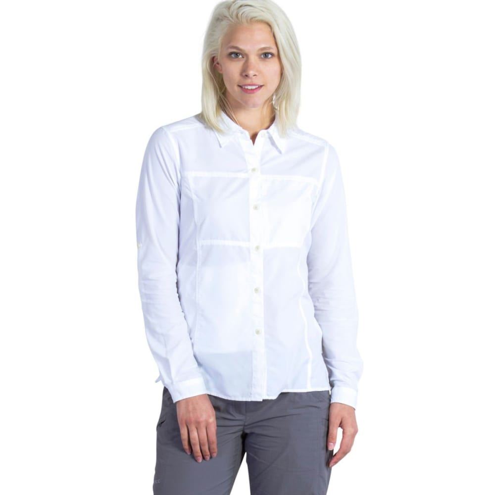 EXOFFICIO Women's Lightscape   Shirt - WHITE