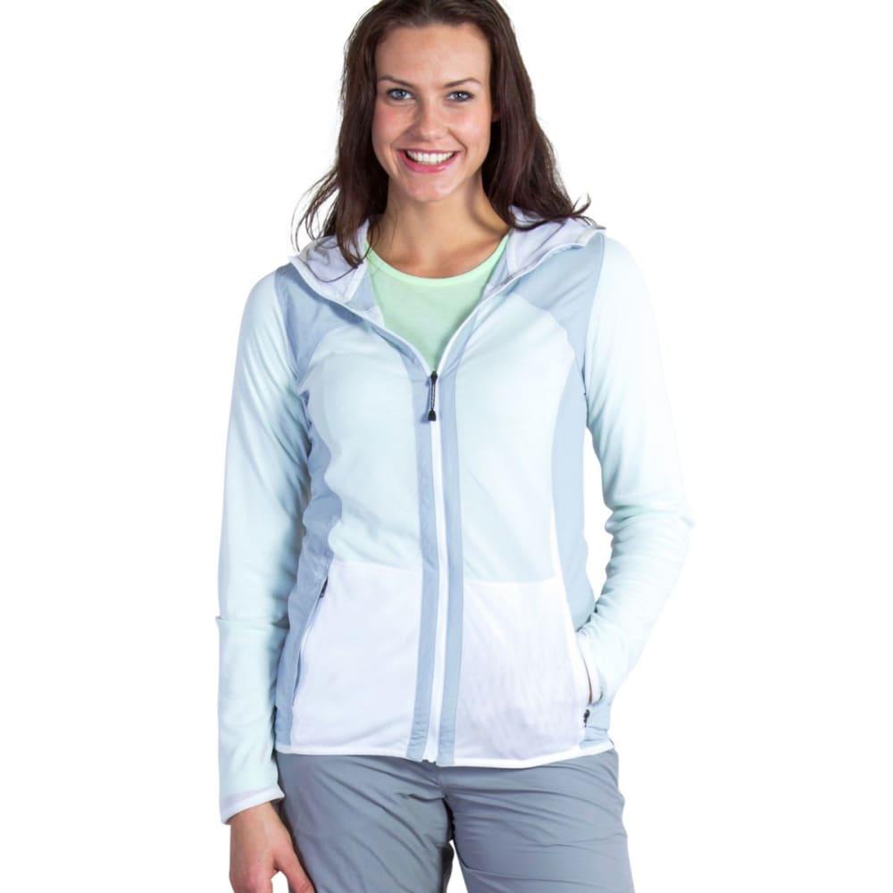 EXOFFICIO Women's BugsAway Damselfly Jacket - 1043-WHITE/OYSTER