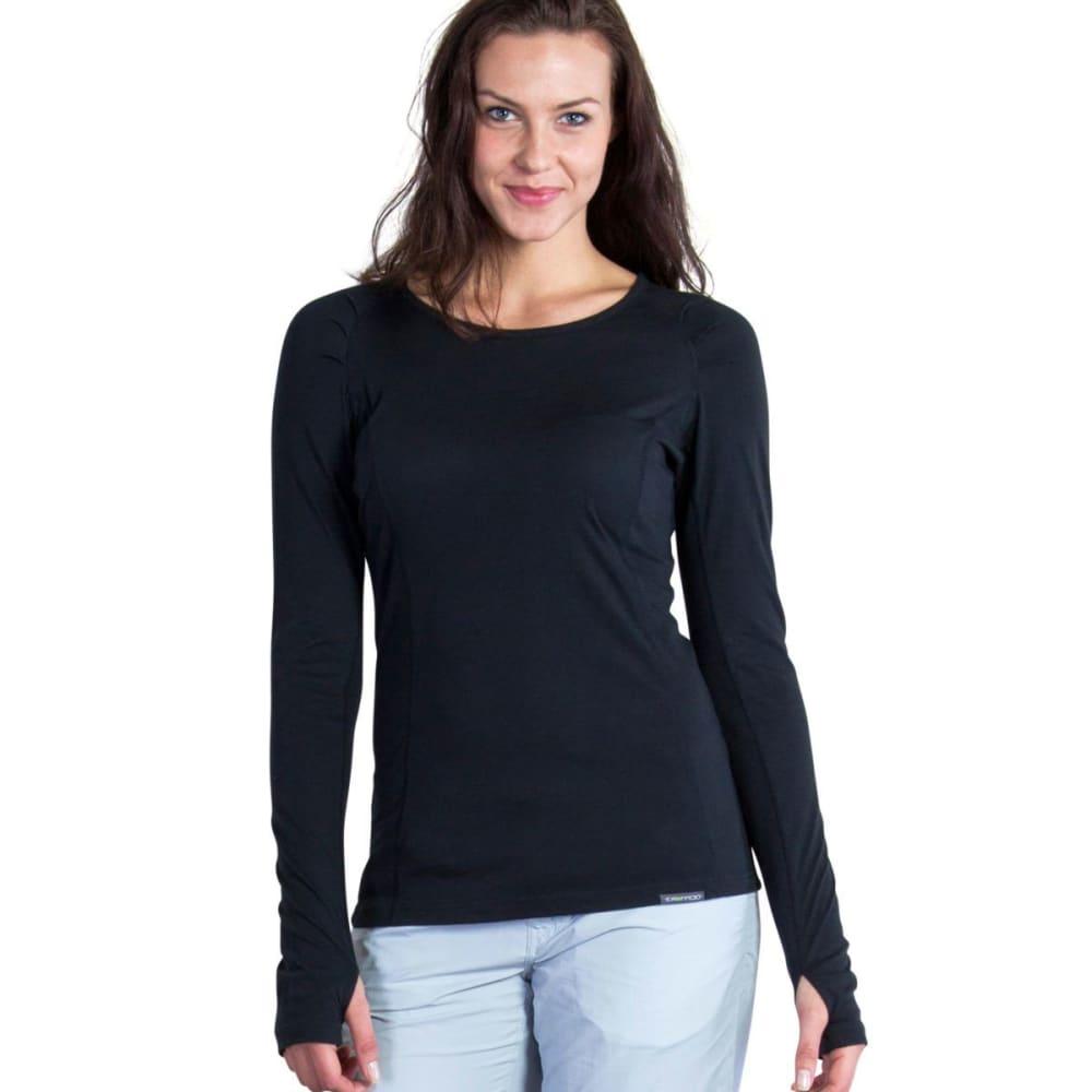 EXOFFICIO Women's BugsAway® Lumen™ Long-Sleeve Shirt - BLACK