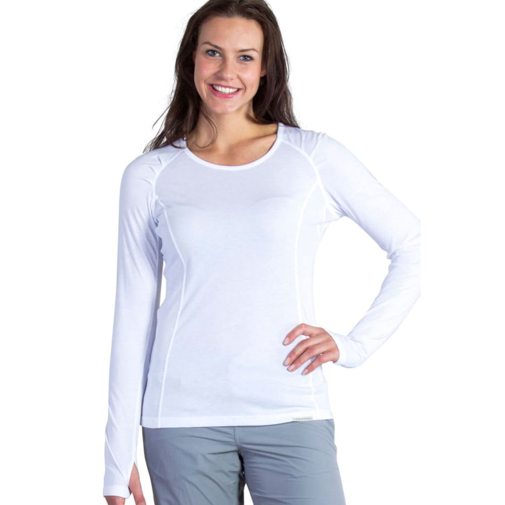 EXOFFICIO Women's BugsAway® Lumen   Long-Sleeve Shirt  - 1000-WHITE