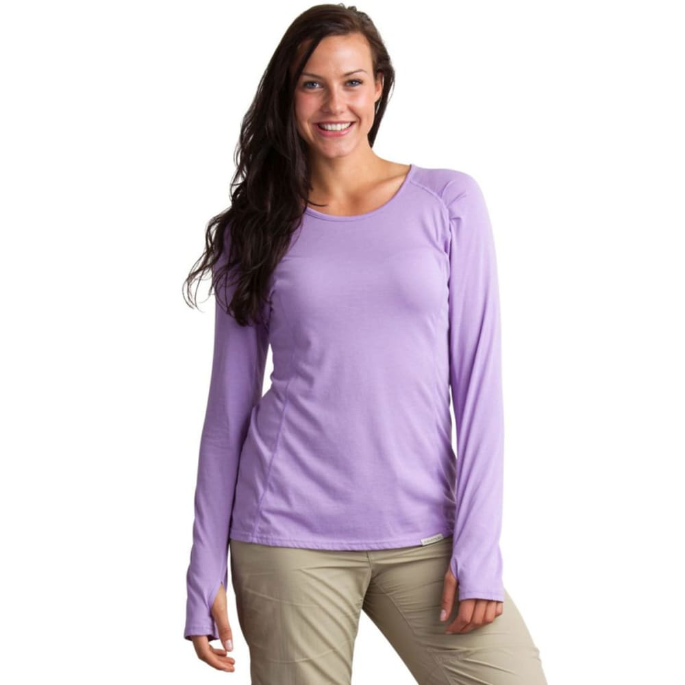 EXOFFICIO Women's BugsAway® Lumen   Long-Sleeve Shirt   - 4361-LUPINE
