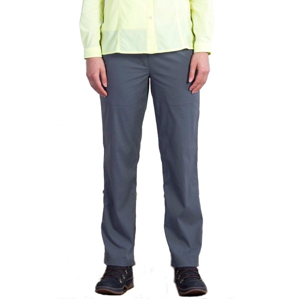 EXOFFICIO Women's Nomad™ Roll-Up Pants - SLATE SHORT LENGTH