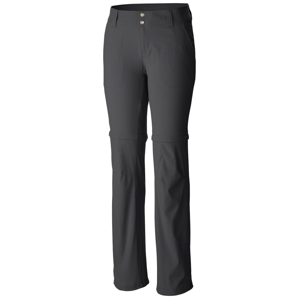 COLUMBIA Women's Saturday Trail II Convertible Pants - GRILL