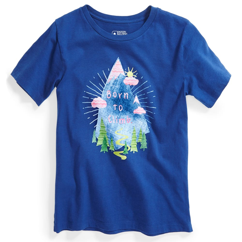 EMS® Kids' Born to Climb Graphic Tee - BLUE DEPTHS