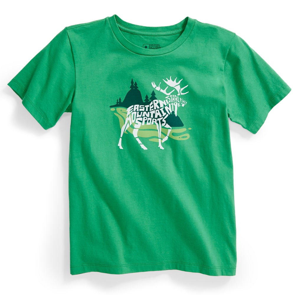 EMS® Kids' E-M-OOSE Graphic Tee - MED. GREEN