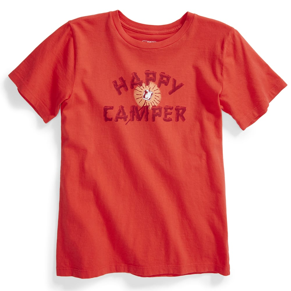 EMS® Kids' Happy Camper Graphic Tee - POPPY RED